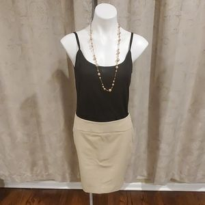 NWT The Limited Tan Pencil Skirt